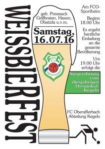 FCO Weißbierfest 2016